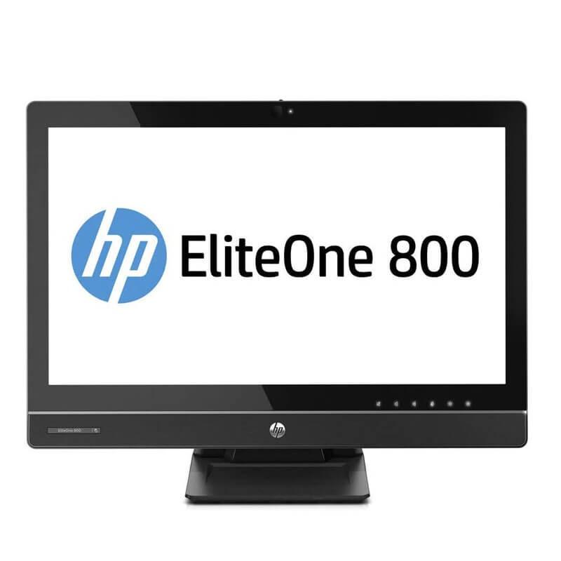 All-in-One SH HP EliteOne 800 G1, Quad Core i5-4570S, 23 inch Full HD IPS, Webcam