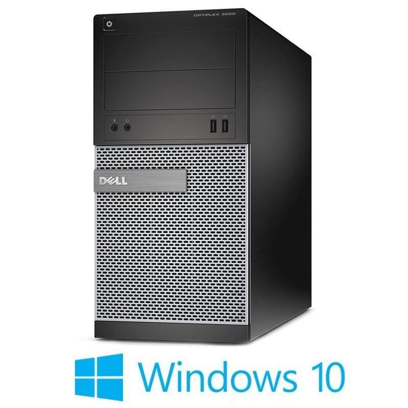 Calculatoare Dell OptiPlex 3020 MT, Intel Core i3-4130, Win 10 Home