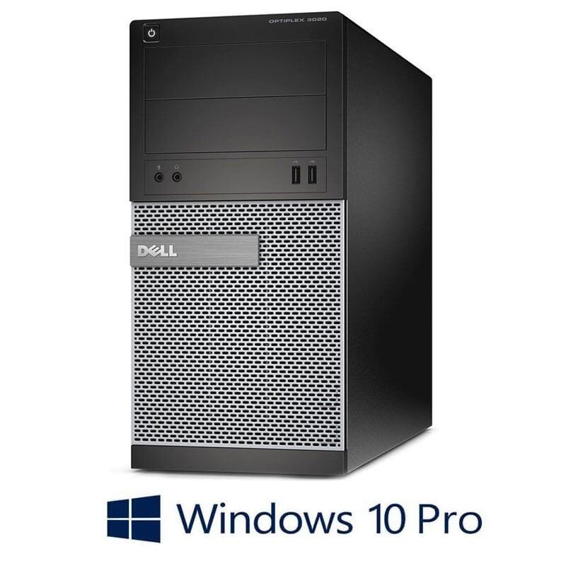 Calculatoare Dell OptiPlex 3020 MT, Intel Core i3-4130, Win 10 Pro