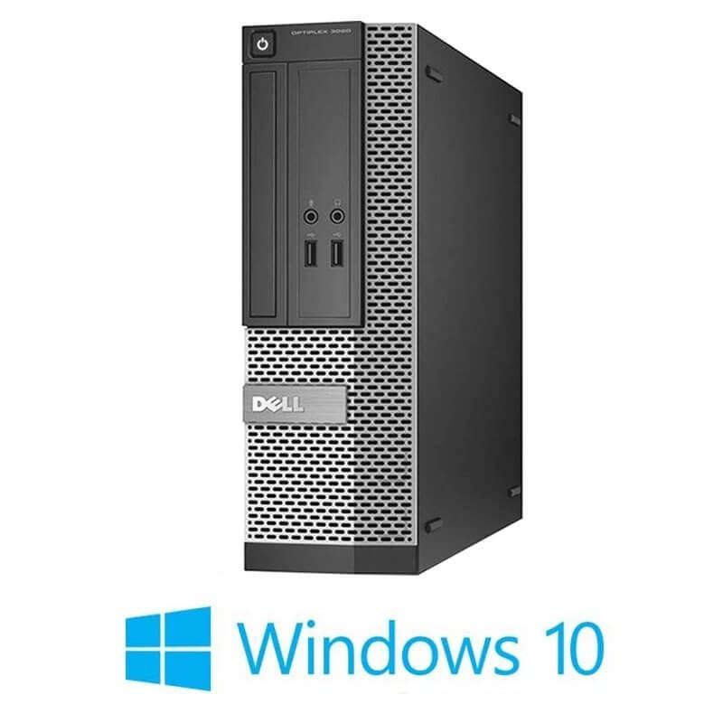 Calculatoare Dell OptiPlex 3020 SFF, Quad Core i5-4570, 120GB SSD NOU, Win 10 Home