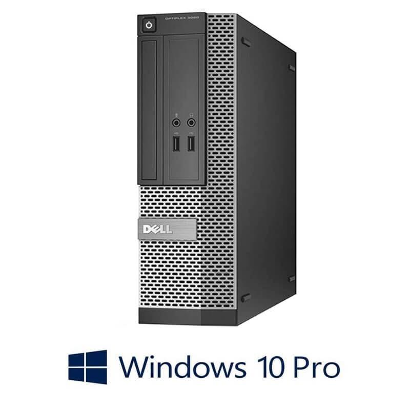 Calculatoare Dell OptiPlex 3020 SFF, Quad Core i5-4570, 120GB SSD NOU, Win 10 Pro
