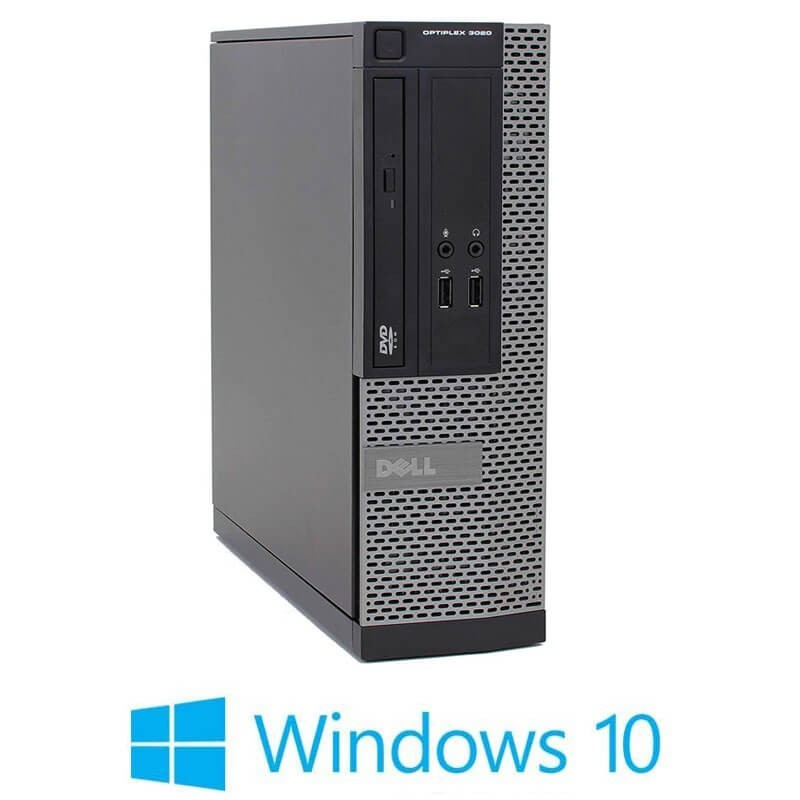 Calculatoare Dell OptiPlex 3020 SFF, Quad Core i7-4770, 8GB RAM, Windows 10 Home