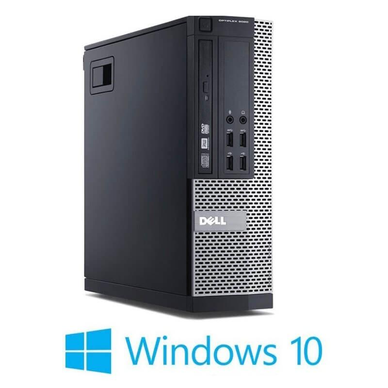 Calculatoare Dell OptiPlex 9020 SFF, Quad Core i5-4570, 240GB SSD NOU, Win 10 Home