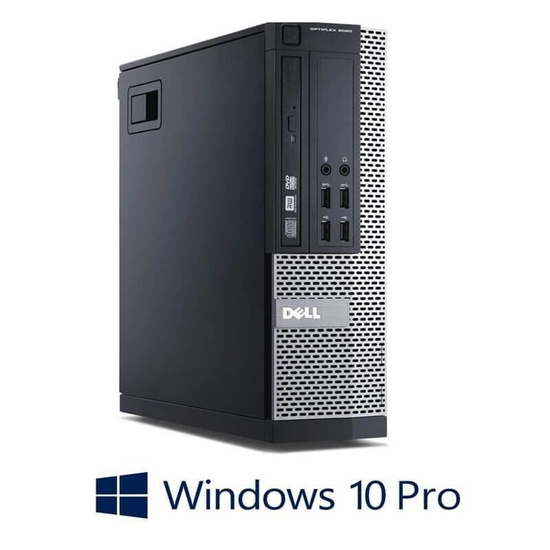Calculatoare Dell OptiPlex 9020 SFF, Quad Core i5-4570, 240GB SSD NOU, Win 10 Pro