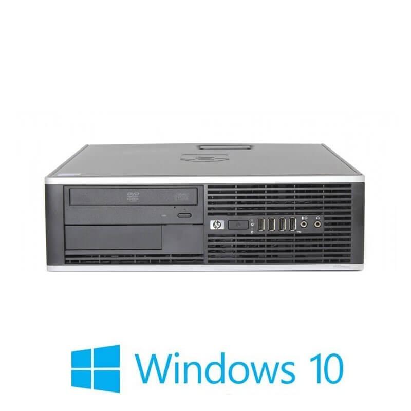 Calculatoare HP Compaq 6000 Pro SFF, Core 2 Duo E8500, Windows 10 Home