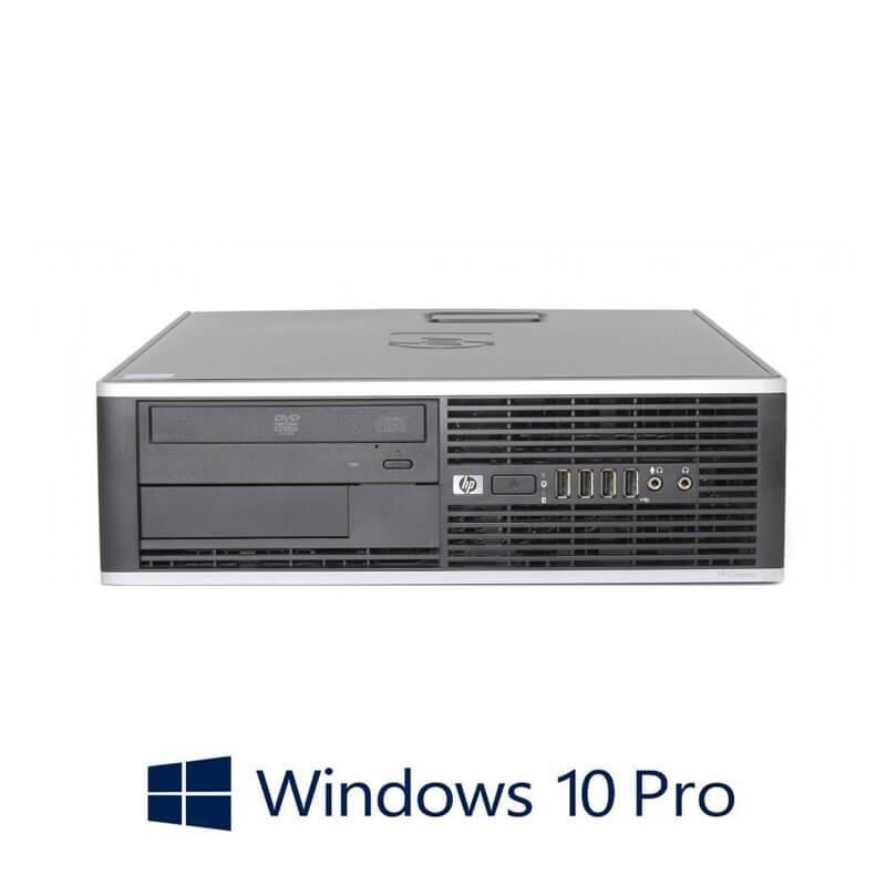 Calculatoare HP Compaq 6000 Pro SFF, Core 2 Duo E8500, Windows 10 Pro
