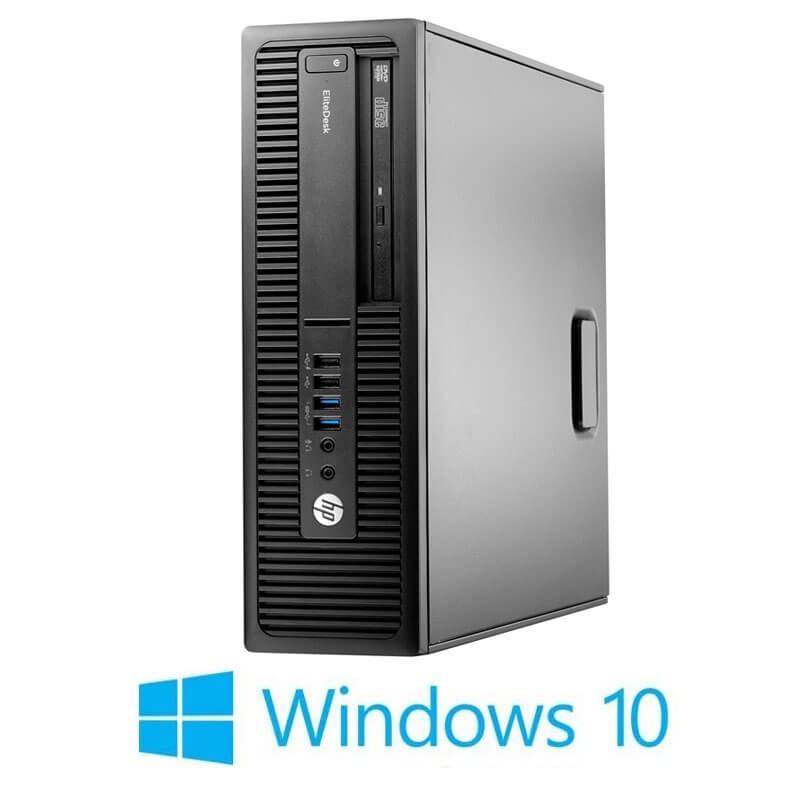 Calculatoare HP EliteDesk 705 G2 SFF, AMD PRO A4-8350B, Windows 10 Home