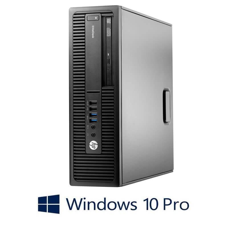 Calculatoare HP EliteDesk 705 G2 SFF, AMD PRO A4-8350B, Windows 10 Pro