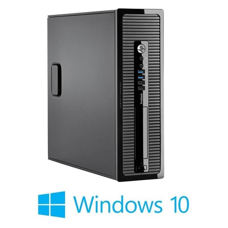 Calculatoare HP ProDesk 400 G1 SFF, Quad Core i5-4590S, Win 10 Home