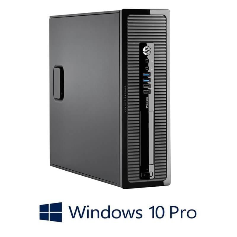 Calculatoare HP ProDesk 400 G1 SFF, Quad Core i5-4590S, Win 10 Pro