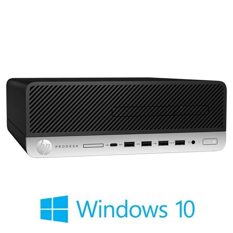 Calculatoare HP ProDesk 600 G5 SFF, Quad Core i3-9100, 512GB SSD M.2, Win 10 Home