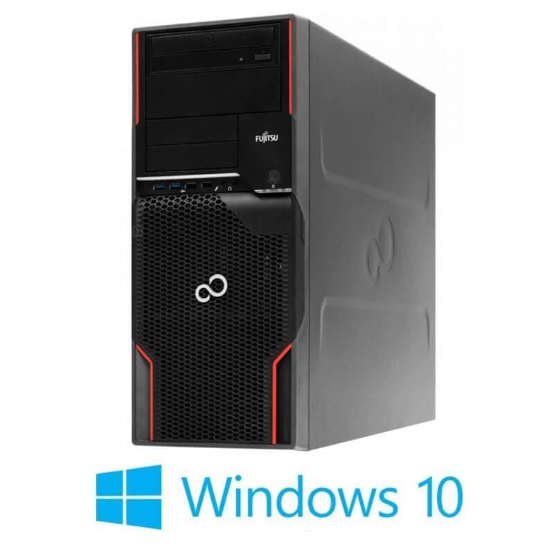Workstation Fujitsu CELSIUS W520, E3-1225 v2, SSD, GeForce GT 240, Win 10 Home