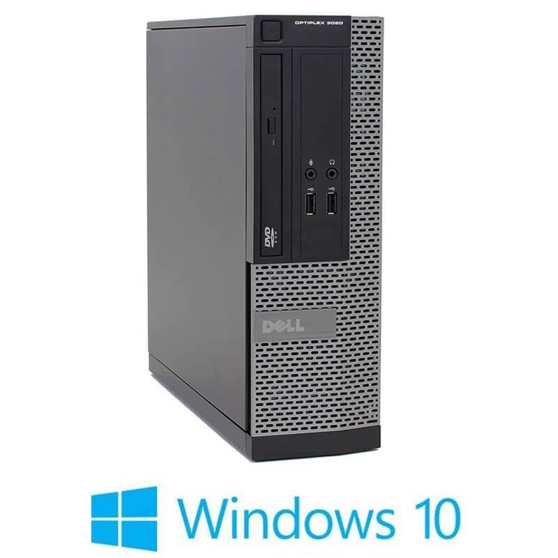 Calculator Dell OptiPlex 3020 SFF, Quad Core i5-4570, 240GB SSD NOU, Win 10 Home