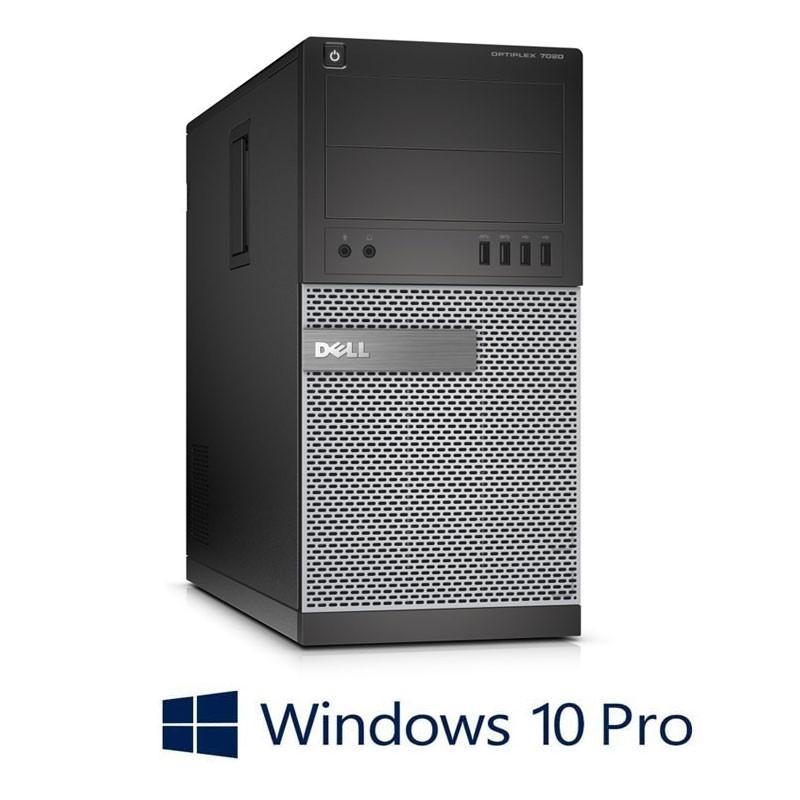 Calculatoare Dell Optiplex 7020 MT, Quad Core i7-4790K, 8GB, Win 10 Pro