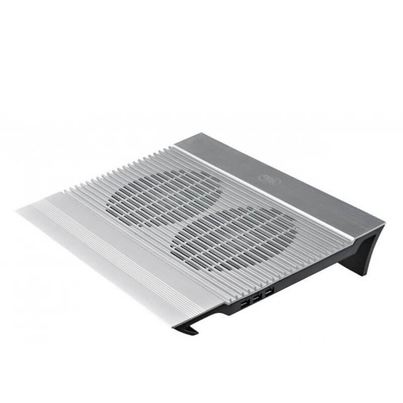 Cooler Laptop NOU DeepCool N8, 17 inci, 4 x USB, Aluminiu