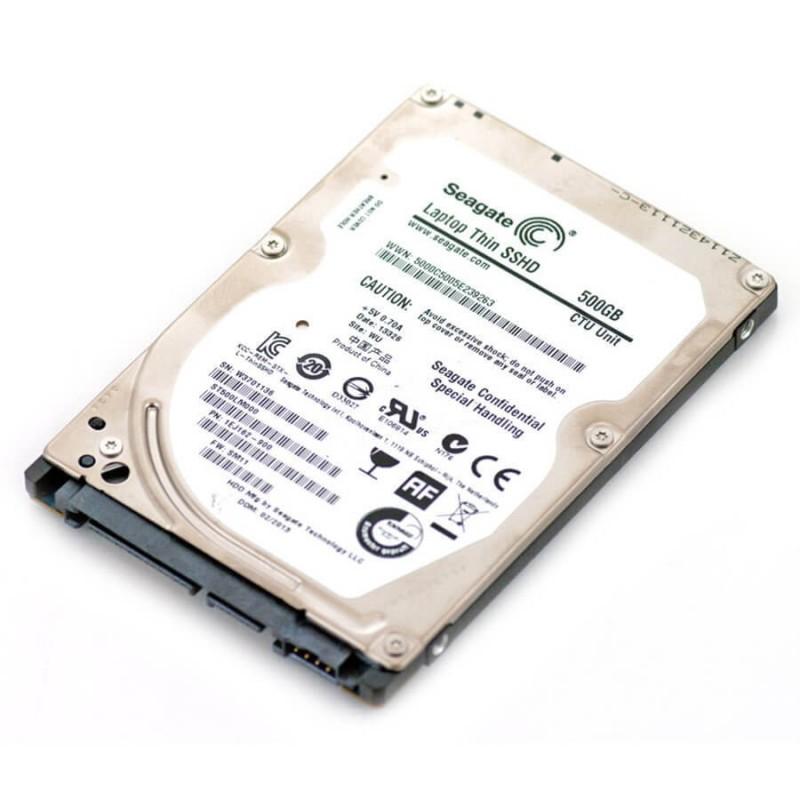 Hard Disk Laptopuri Refurbished SEAGATE Thin SSHD ST500LM000, 500GB