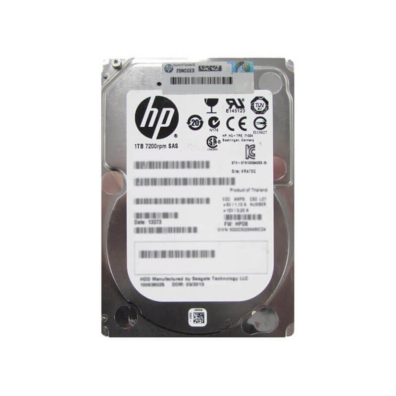 Hard Disk HP 727397-001 1TB SAS 6Gbps 7200RPM 2.5 inch