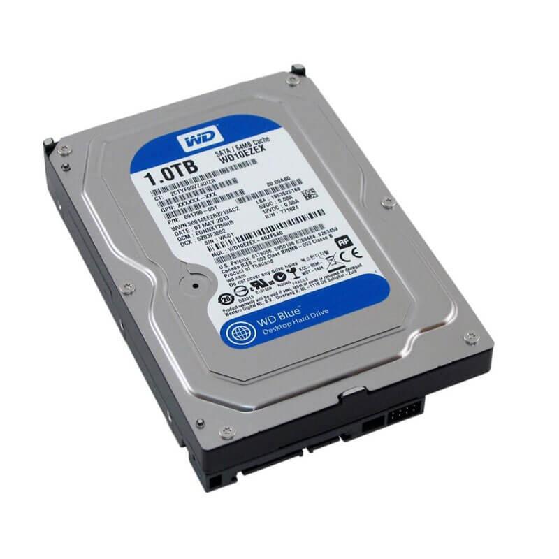 Hard Disk Western Digital WD10EZEX, 1TB SATA3 6GB/S, 64Mb Cache