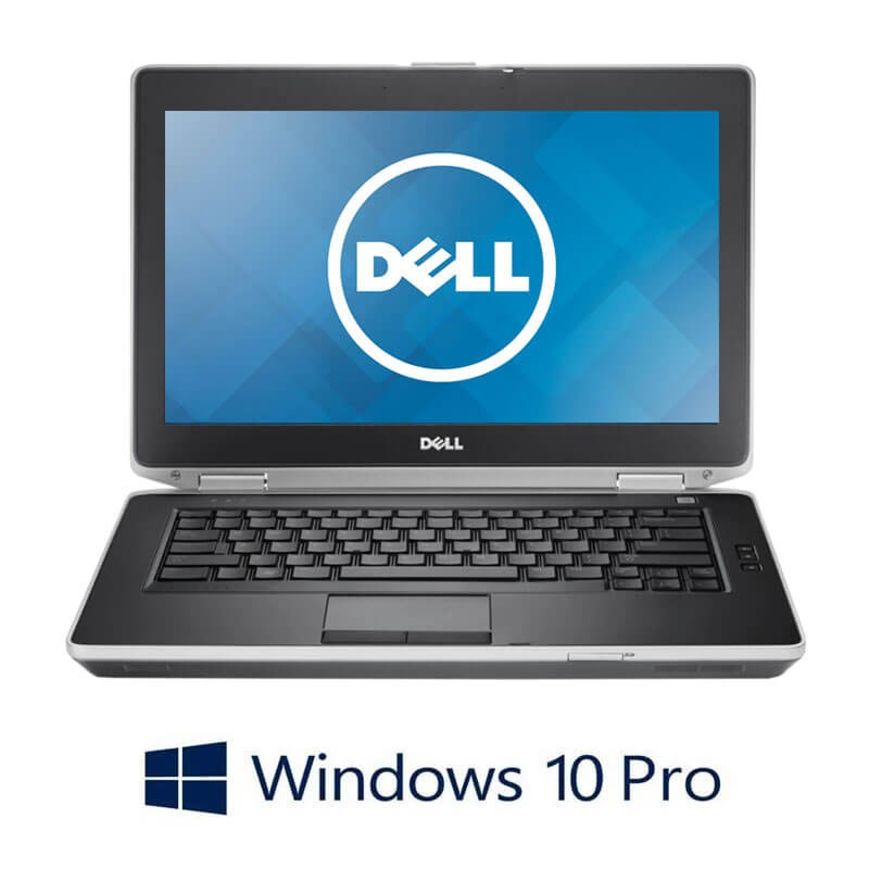 Laptop Dell Latitude E6430, Intel i5-3340M, 256GB SSD, 14 inci, Webcam, Win 10 Pro