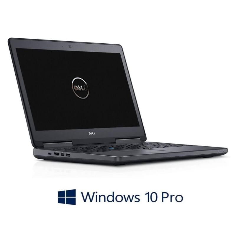 Laptop Dell Precision 7510, i7-6820HQ, 16GB RAM, 512GB SSD, Quadro M1000M, Win 10 Pro