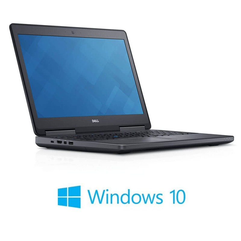 Laptop Dell Precision 7510, i7-6820HQ, 512GB SSD, Full HD, Quadro M1000M 2GB, Win 10 Home