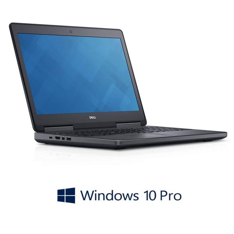 Laptop Dell Precision 7510, i7-6820HQ, 512GB SSD, Full HD, Quadro M1000M 2GB, Win 10 Pro