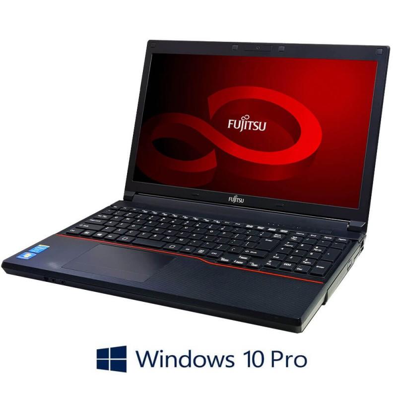 Laptop Fujitsu LIFEBOOK A574/K, Intel Core i3-4000M, 15.6 inci, Webcam, Windows 10 Pro