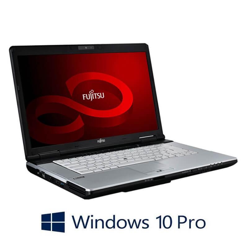 Laptop Fujitsu LIFEBOOK S751, i3-2350M, 8GB, 240GB SSD NOU, Webcam, Win 10 Pro