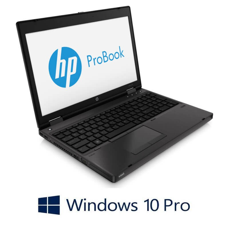 Laptop HP ProBook 6570b, i3-3120M, Win 10 Pro