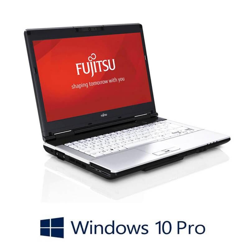 Laptopuri Fujitsu LIFEBOOK S751, Intel i3-2350M, Webcam, Win 10 Pro