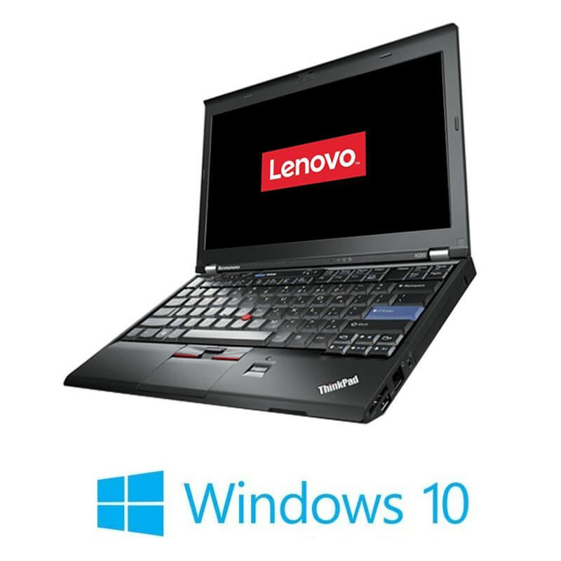 Laptop Refurbished Lenovo ThinkPad X220, Intel i5-2450M, Webcam, Win 10 Home