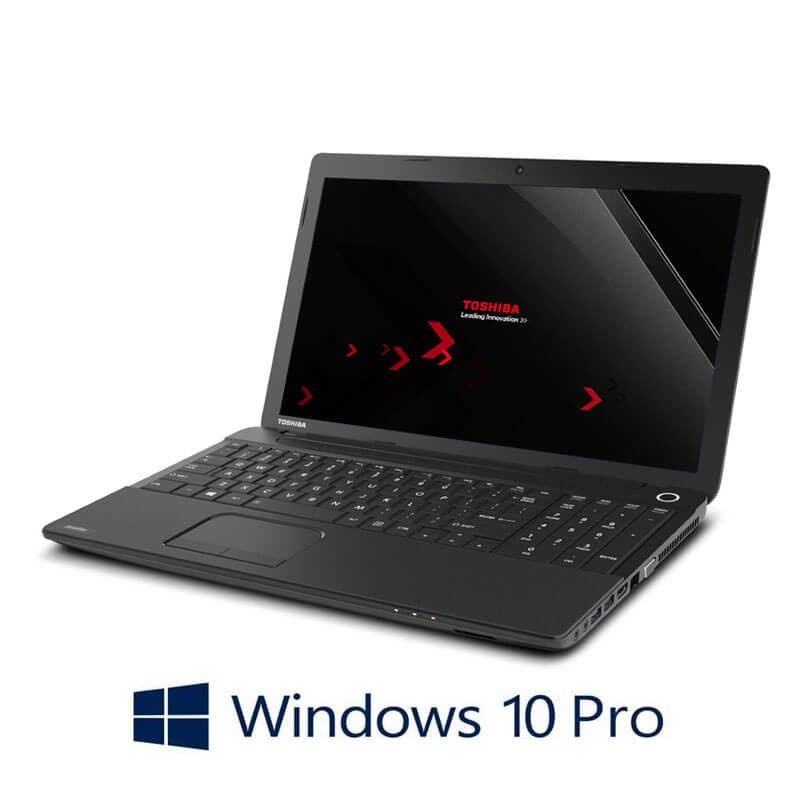 Laptop Toshiba Satellite Pro C50-A-1J1, i3-3110M, 240GB SSD, Webcam, Win 10 Pro