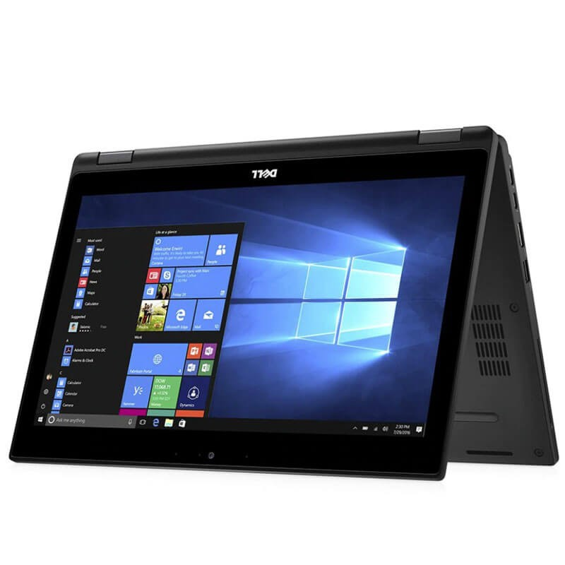 Laptop Touchscreen SH Dell Latitude 5289, i5-7300U, 256GB SSD, Full HD, Webcam