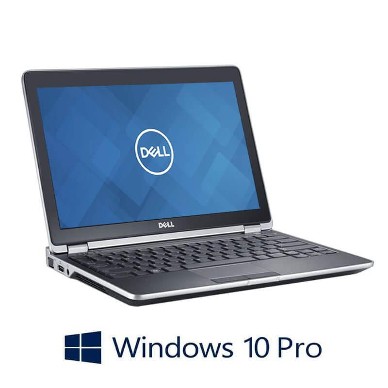 Laptopuri Dell Latitude E6230, Intel Core i5-3340M, Webcam, Windows 10 Pro