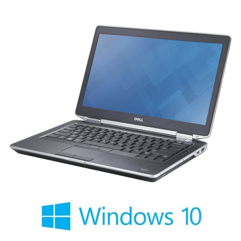 Laptopuri Dell Latitude E6420, Intel i3-2330M, 120GB SSD NOU, Windows 10 Home