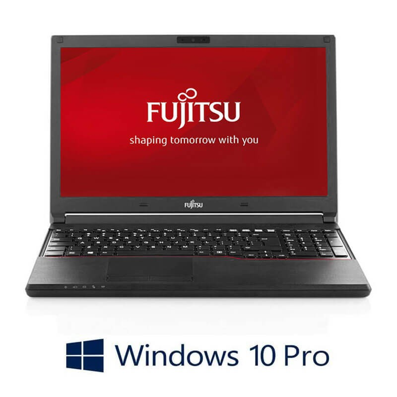 Laptopuri Fujitsu LIFEBOOK A574/K, Intel i3-4000M, 240GB SSD, Webcam, Win 10 Pro