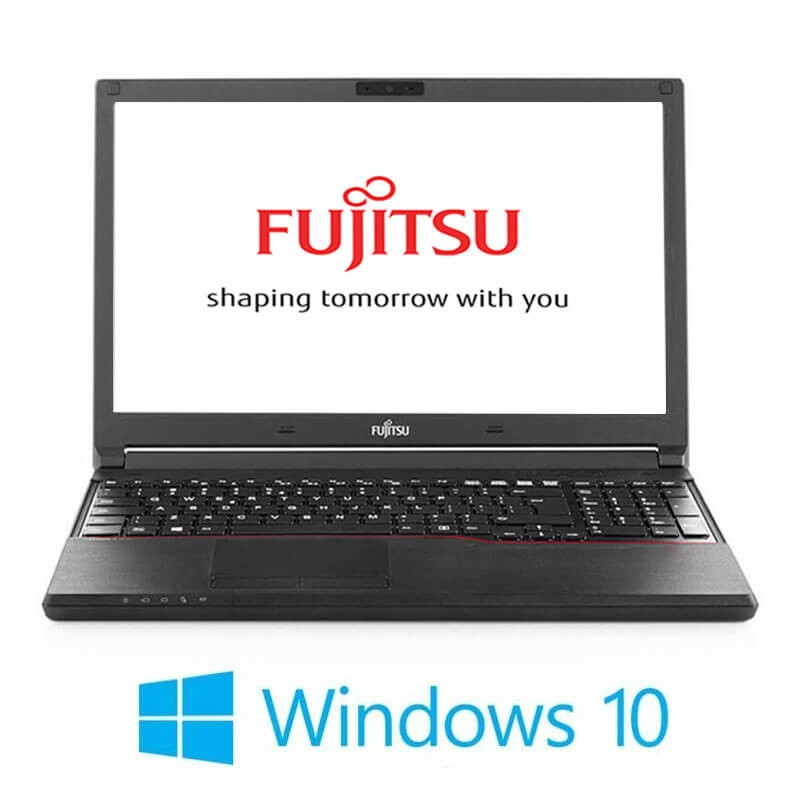 Laptopuri Fujitsu LIFEBOOK A744/K, Intel i3-4000M, 15.6 inci, Webcam, Win 10 Home