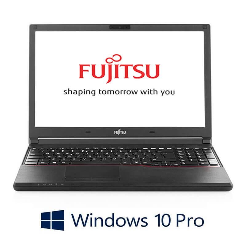 Laptopuri Fujitsu LIFEBOOK A744/K, Intel i3-4000M, 15.6 inci, Webcam, Win 10 Pro