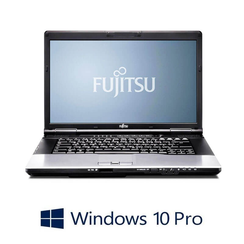 Laptopuri Fujitsu LIFEBOOK E752, Intel i3-3110M, 15.6 inci, Webcam, Win 10 Pro