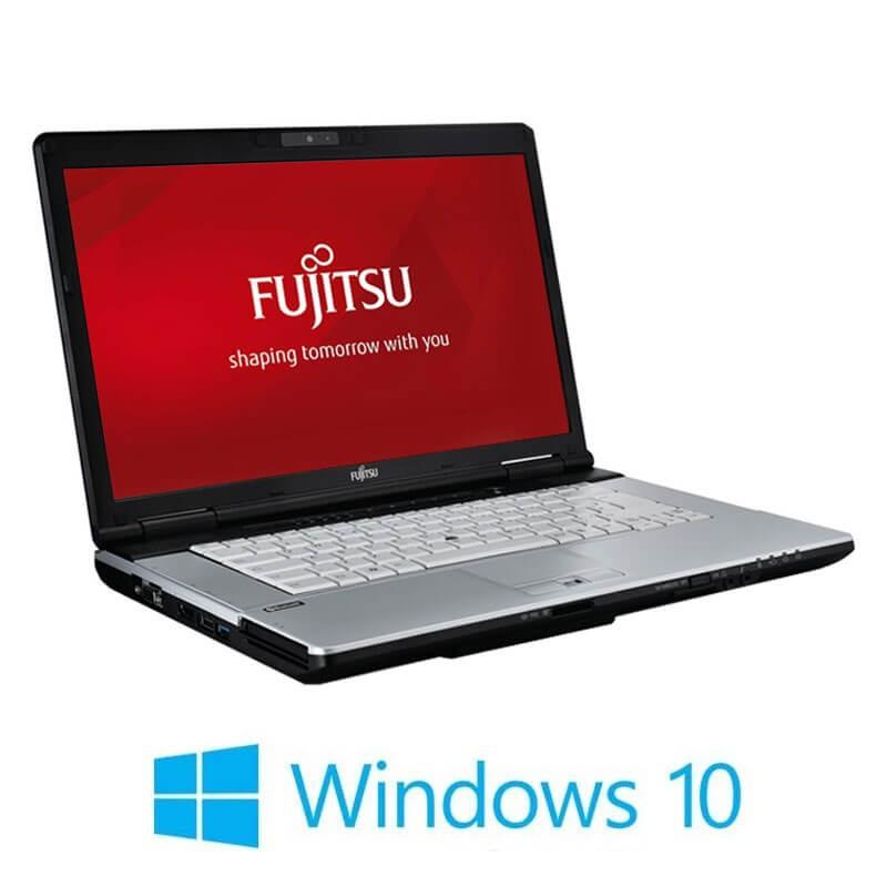 Laptopuri Fujitsu LIFEBOOK S751, i3-2350M, 120GB SSD NOU, Webcam, Win 10 Home