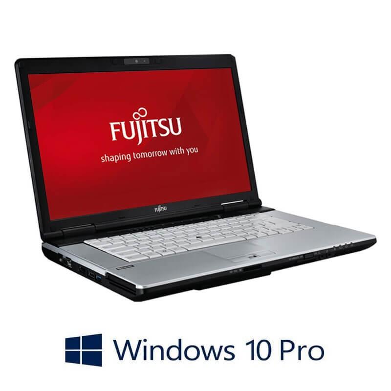 Laptopuri Fujitsu LIFEBOOK S751, i3-2350M, 120GB SSD NOU, Webcam, Win 10 Pro