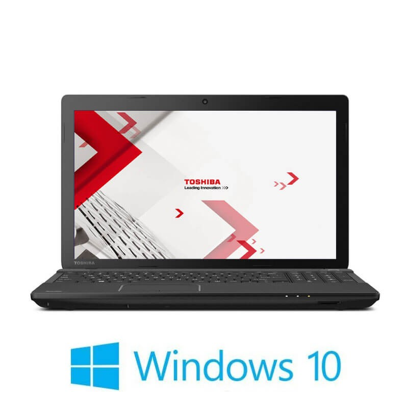 Laptopuri Toshiba Satellite Pro C50-A-1J1, i3-3110M, 15.6 inci, Webcam, Win 10 Pro