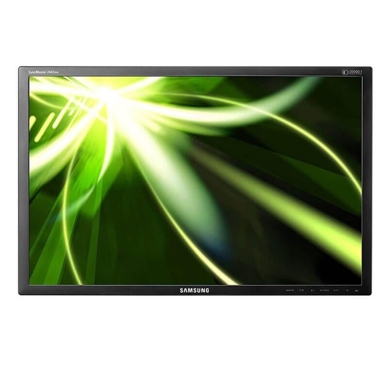 Monitor LCD Samsung SyncMaster 2443, 24 inci Full HD, Fara Picior