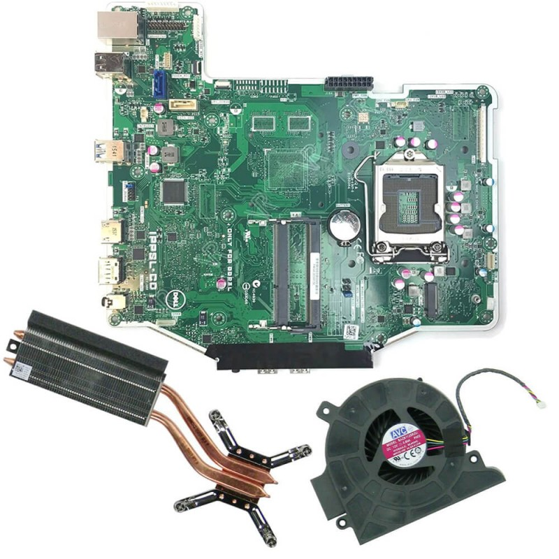 Placi de baza SH AIO Dell OptiPlex 3240 + Radiator, Cooler