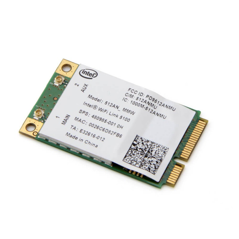 Placi Retea Wireless Refurbished lntel WiFi Link 5100 PCIe Mini 512AN_MMW