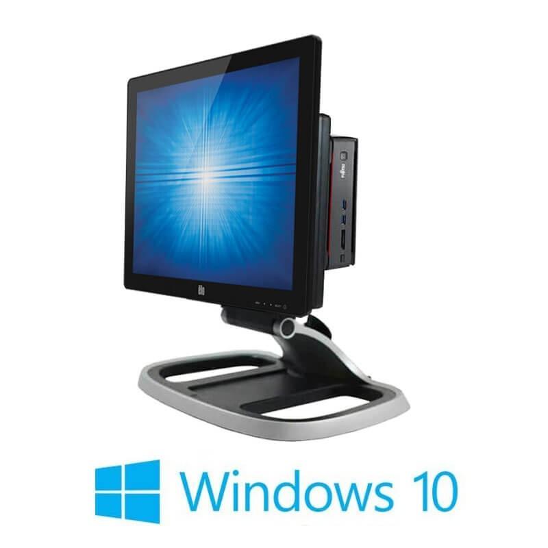 Sistem POS Fujitsu ESPRIMO Q920, i5-4590T, SSD, Elo 1717L, Win 10 Home