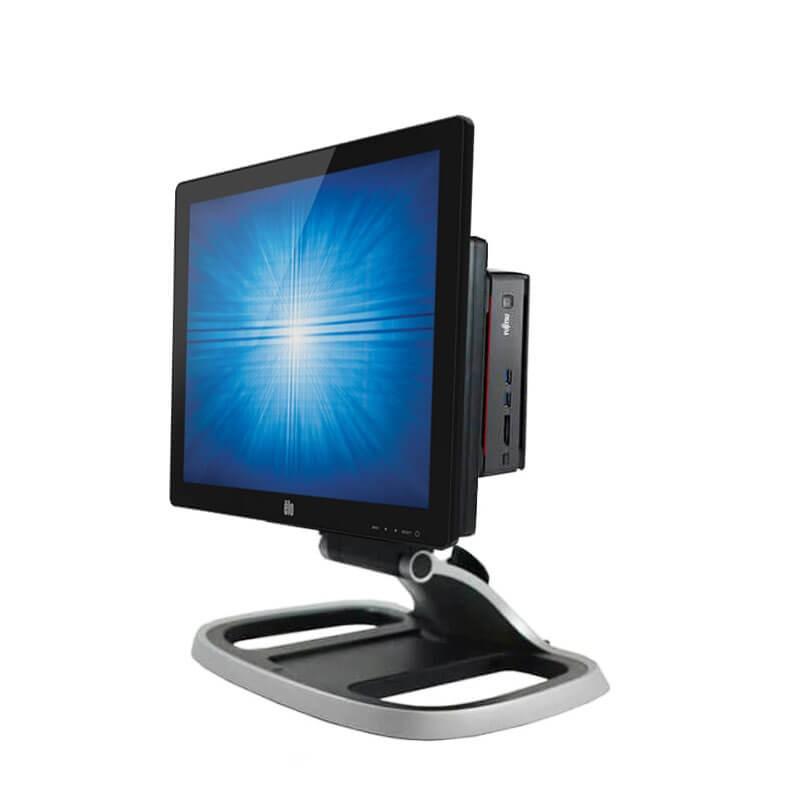 Sistem POS SH Fujitsu ESPRIMO Q920, Quad Core i5-4590T, SSD, Elo 1717L Grad A