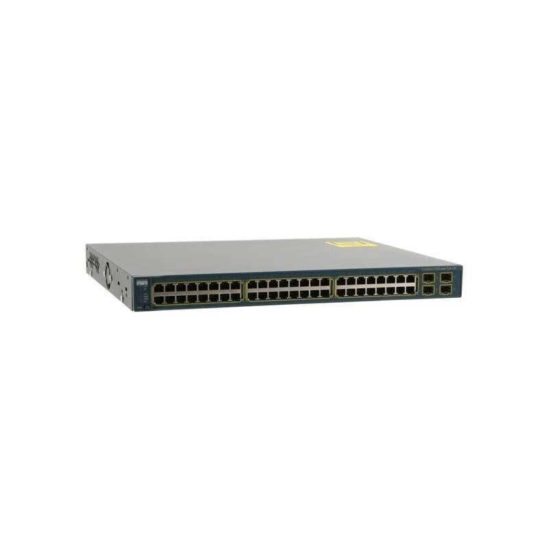 Switch second hand Cisco Catalyst WS-C3560-48PS-S