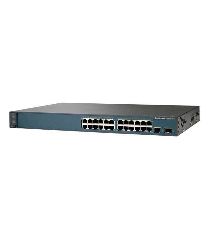 Switch second hand Cisco layer 3 WS-C3560V2-24TS-S V02