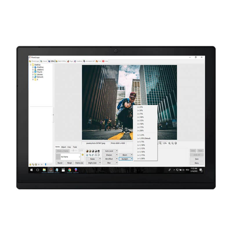 Tableta SH Lenovo ThinkPad X1 Gen 2, Intel i5-7Y54, SSD, 2K IPS, Grad A-, Webcam